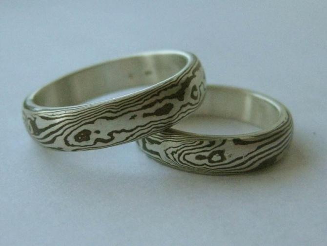 Snubní prsteny, 15 vrstev - 1. foto