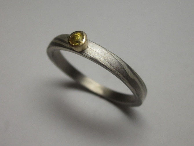 zásnubní prsten se safírem - 4. foto